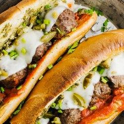 Meatball Sub Sandwich recipe
